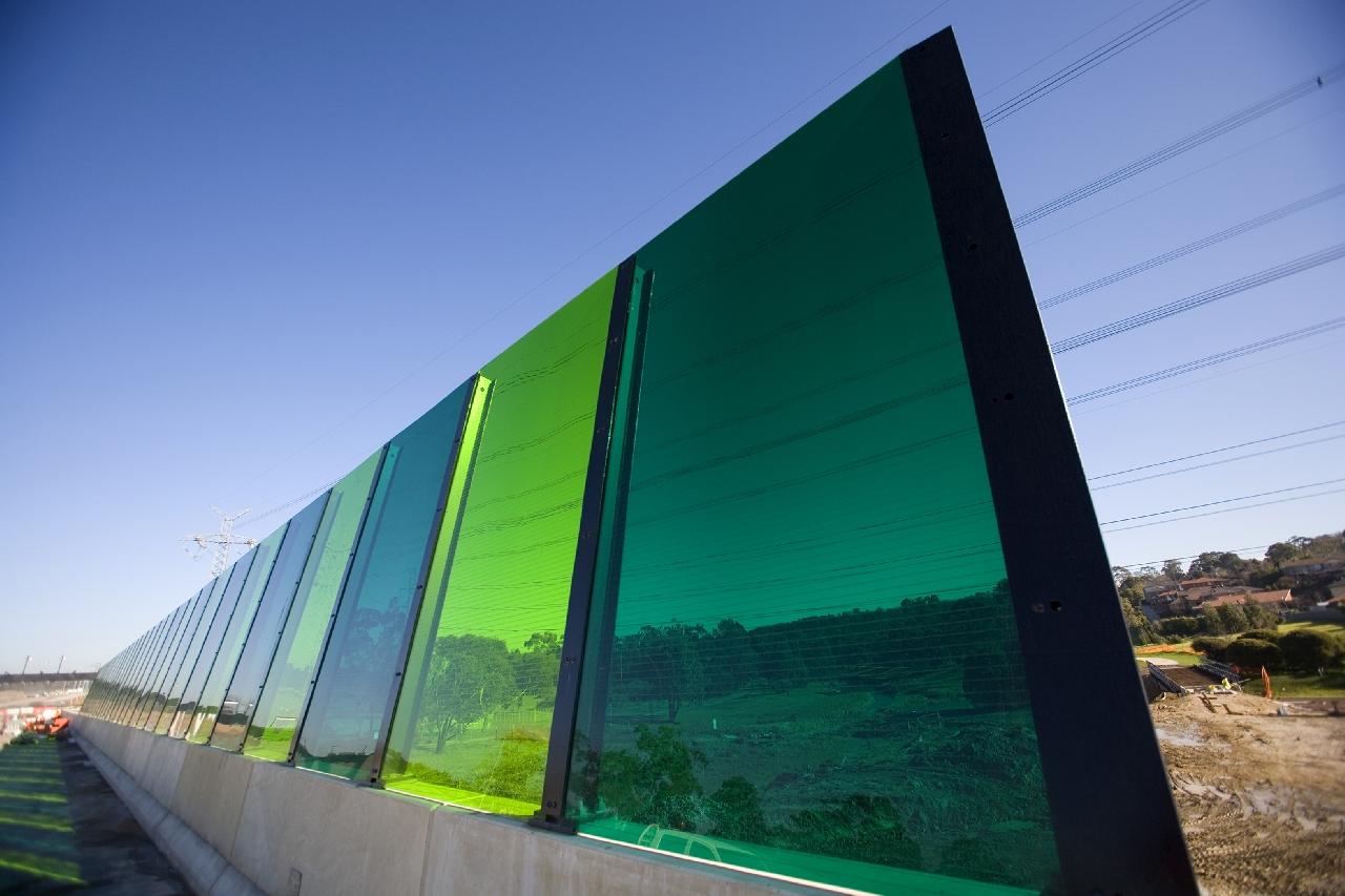 Шумозащитные экраны из поликарбоната